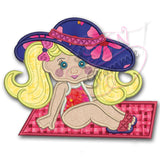 Beach Bebe Luna Applique Design