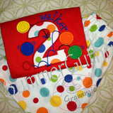 Bouncy Balls Number TWO Applique Design
