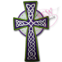 Celtic Cross Applique Design