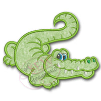 Alligator Gator Boy - Gaston Applique Design