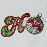 HoHoHo! Applique Design