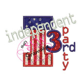 Independent 3rd Party Applique Design
