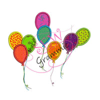 Just Balloons Applique Add on Design