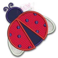 Lady Bug Applique Design