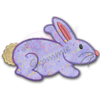 Lil Bunny Applique Design