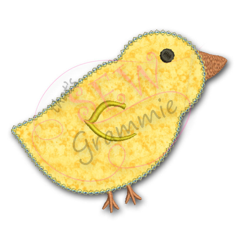 Lil Chick Applique Design