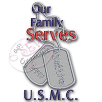 Our Family Serves: Marines