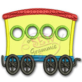 Choo Choo Train Passenger Applique Design