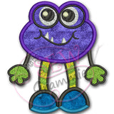 Little Monster Ziggy Applique Design
