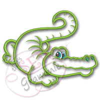 Alligator Gator Boy - Rougaru Applique Design