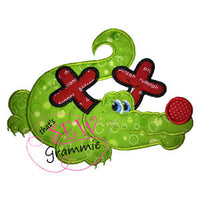 Rudolph Alligator Applique Design Rudi Gator