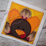 Turkey Box Applique Design