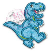 T Rex Applique Design
