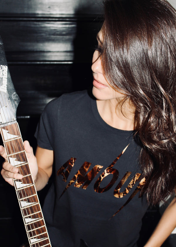 Amour Snake Copper Tee