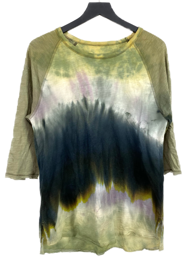 LUKE'S MIDNIGHT DYE BASEBALL TEE