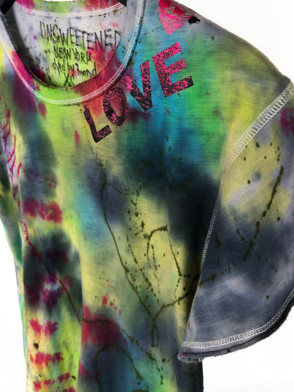 LUKE'S TIE DYE with LOVE TEE