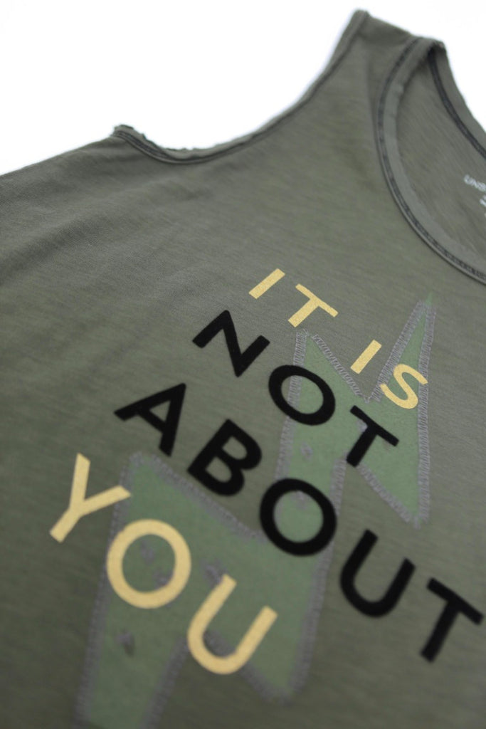 It Is Not About You Army Tank
