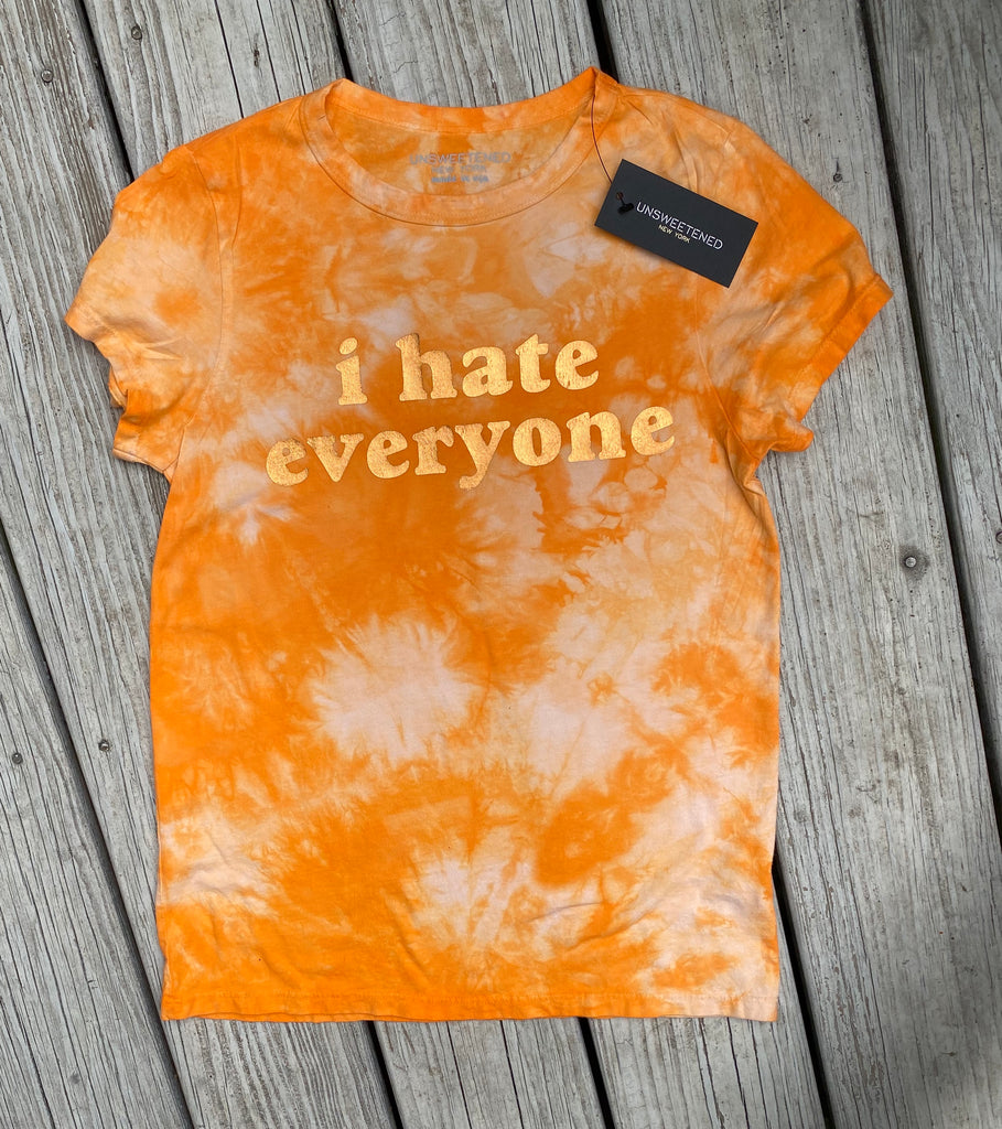 I Hate Everyone Creamsicle Perfect Tee