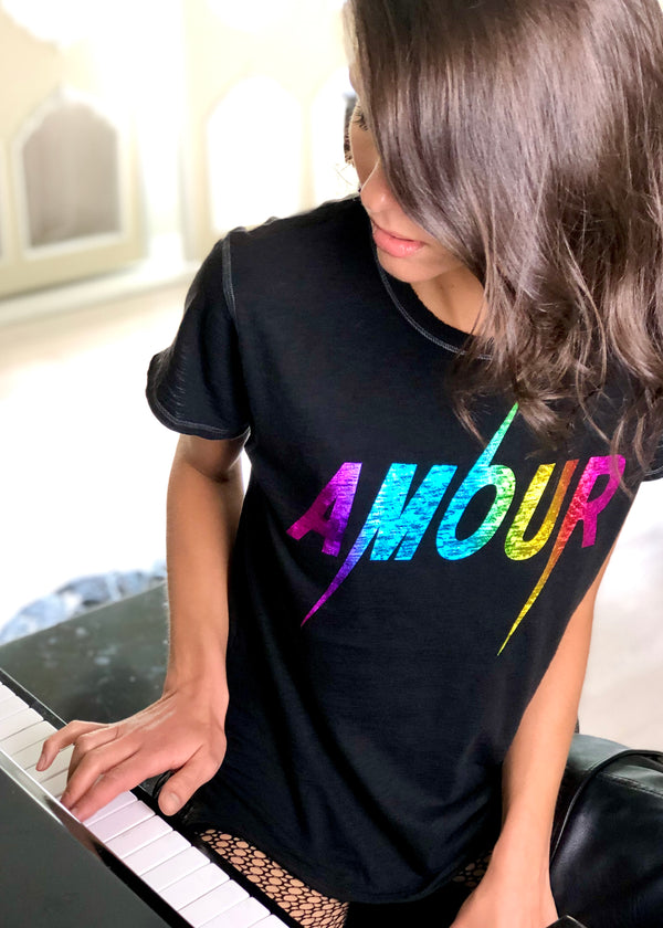 Amour Holograph Tee