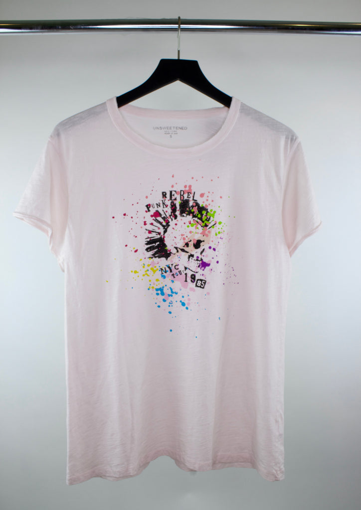 Rebel Punk Pink Tee