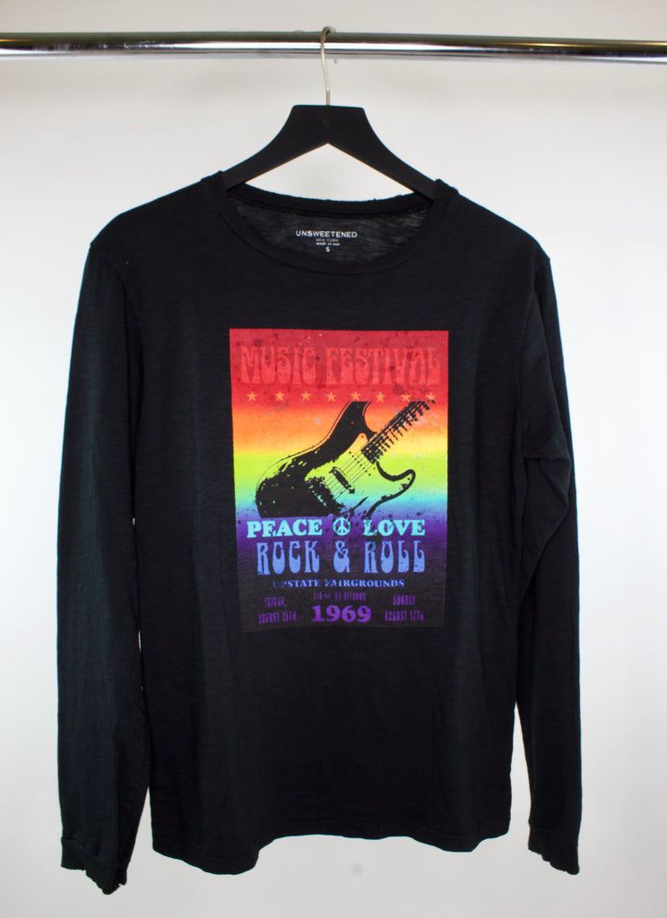 Festival Black Long Sleeve