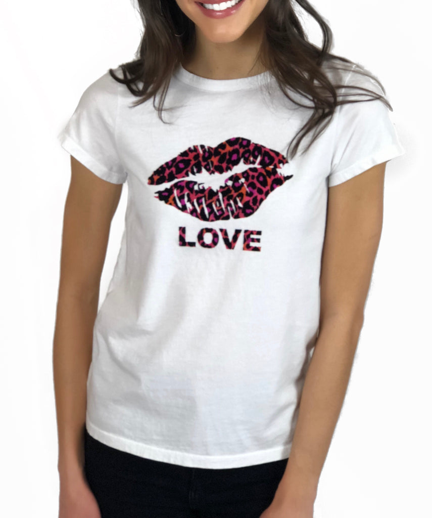 Lip love Fuchsia Tiny Tee