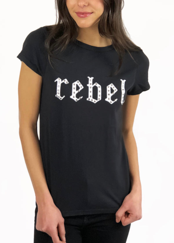 Rebel Black Tiny Tee
