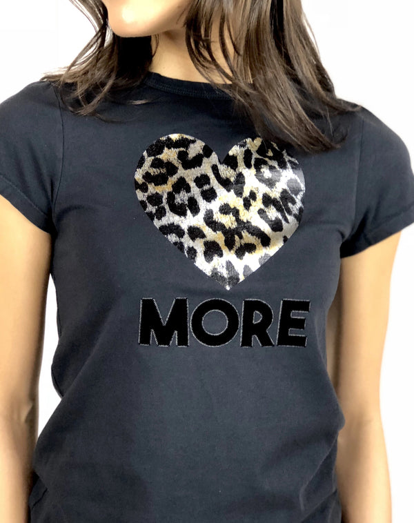 Love More Gold Tiny Tee
