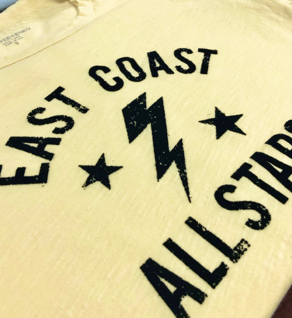 East Coast Yellow Tee