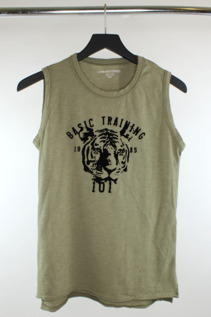 Basic Training Army Muscle Tank