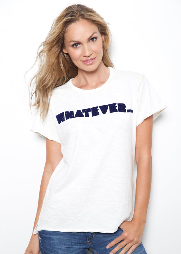 Whatever White Sand Tee