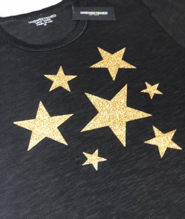 Star Bright Gold Tee