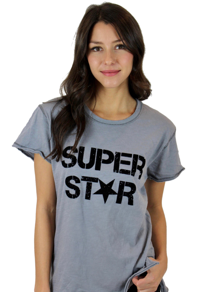 Super Star Grey Tee