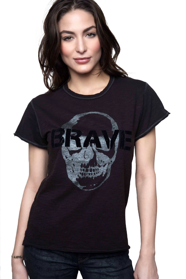 Brave Charcoal Tee