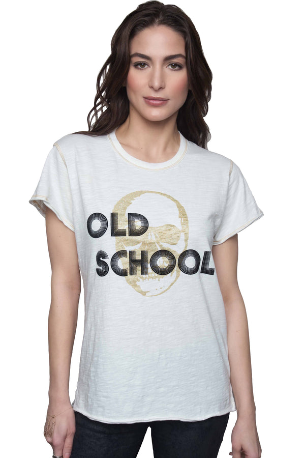 Old School Gold Tee