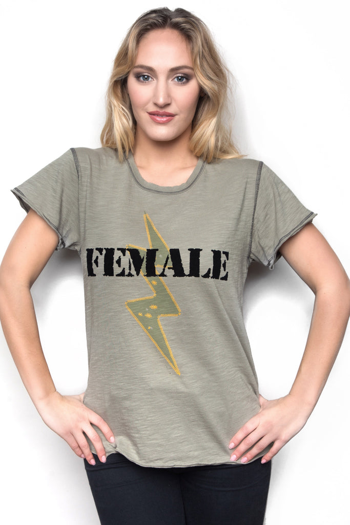 Female Army Tee