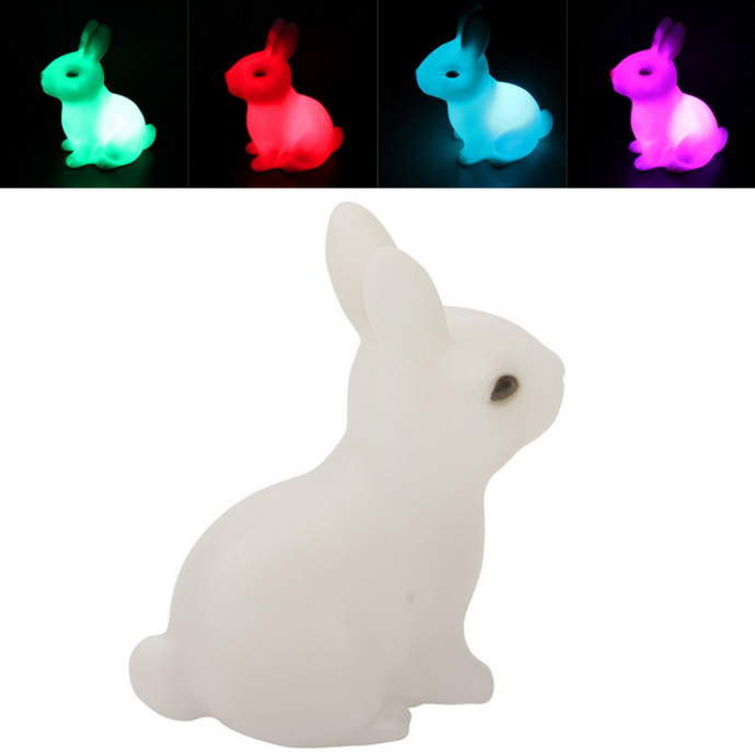 Rabbit Color Changing Lamp - dabDeal