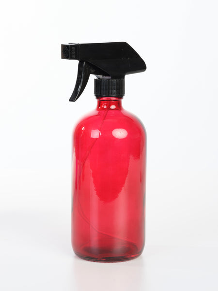 16 oz Glass Trigger Sprayer Bottle - 5 Colors Available