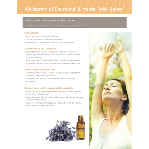 Well Spring of Emotional & Mental Well-Being Tear Pad