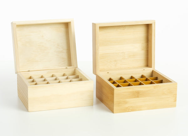 Essential Oil Wooden Storage Box – 20 Bottle Capacity