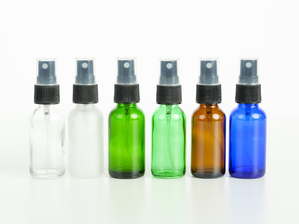 1 oz Glass Bottle with Pump Spray