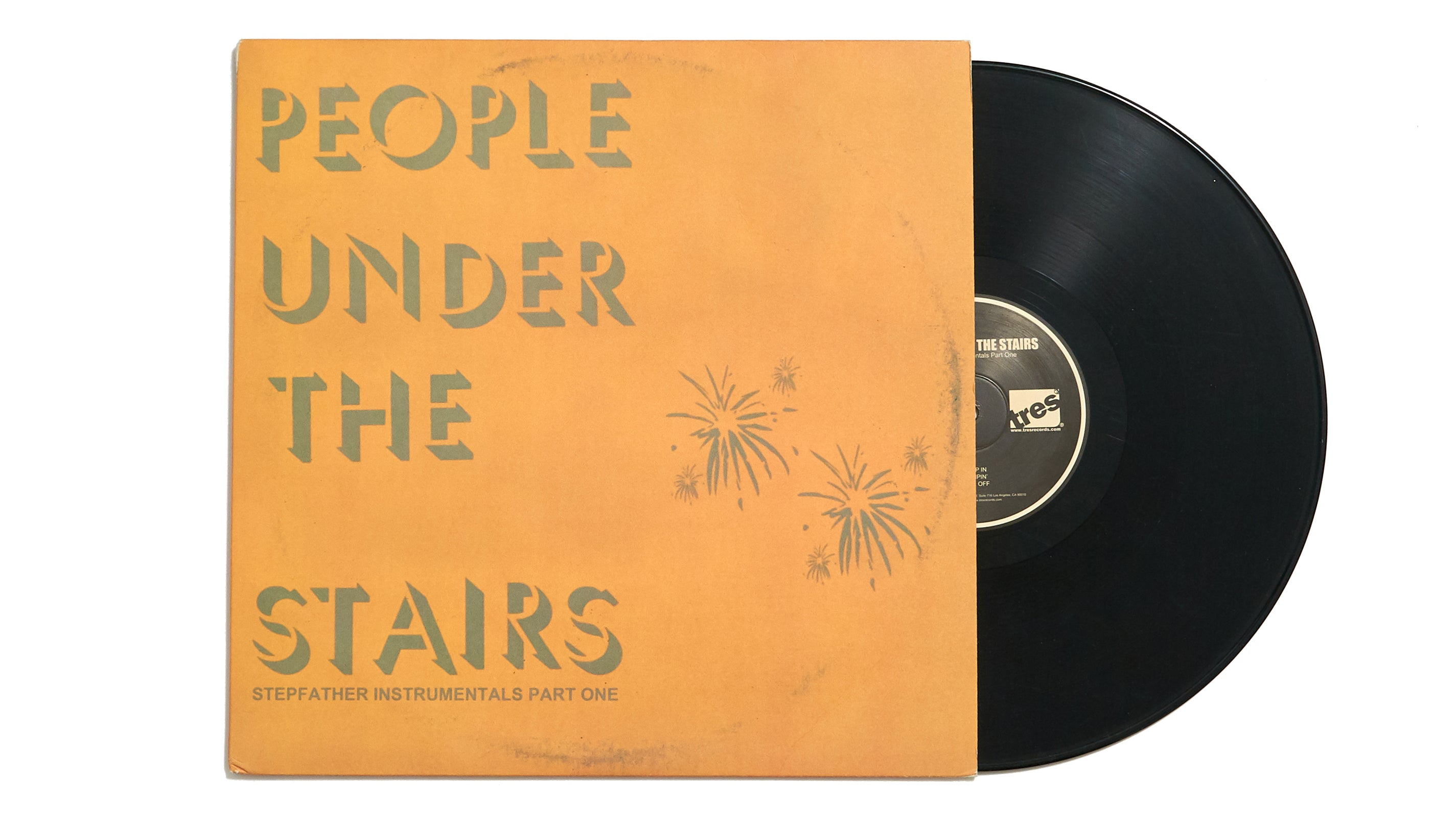 "People Under The Stairs ""Stepfather Instrumentals Part One"" (12"")"