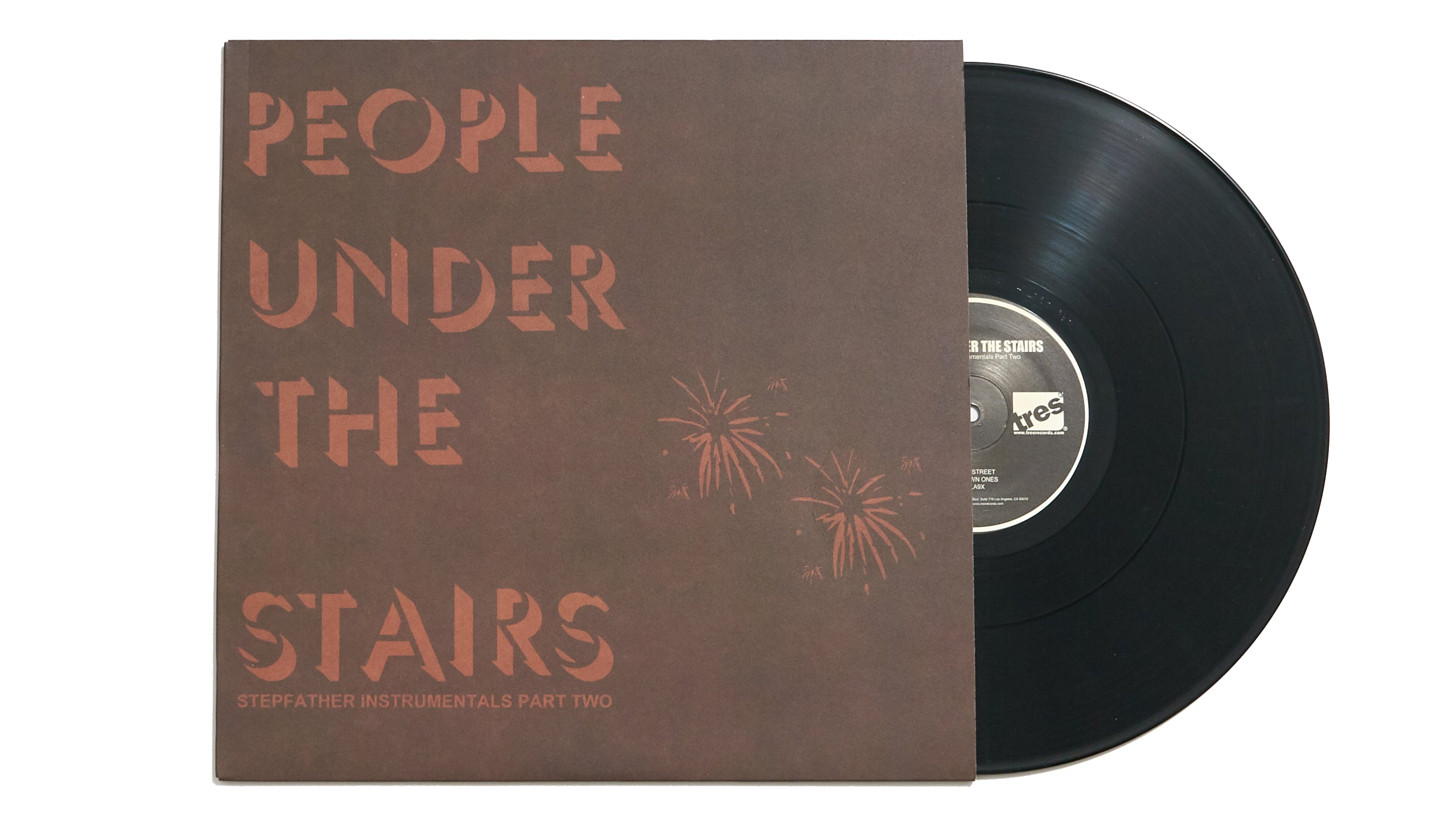 "People Under The Stairs ""Stepfather Instrumentals Part Two"" (12"")"