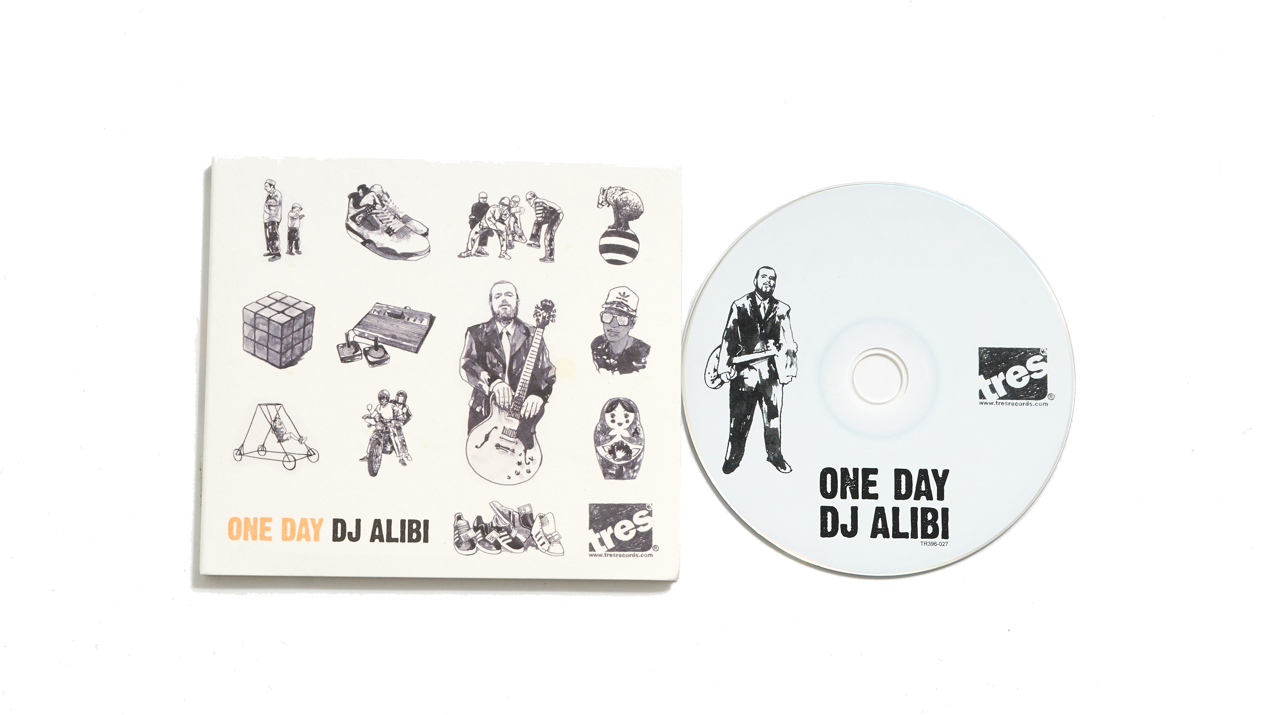 "DJ Alibi ""One Day"" (CD)"