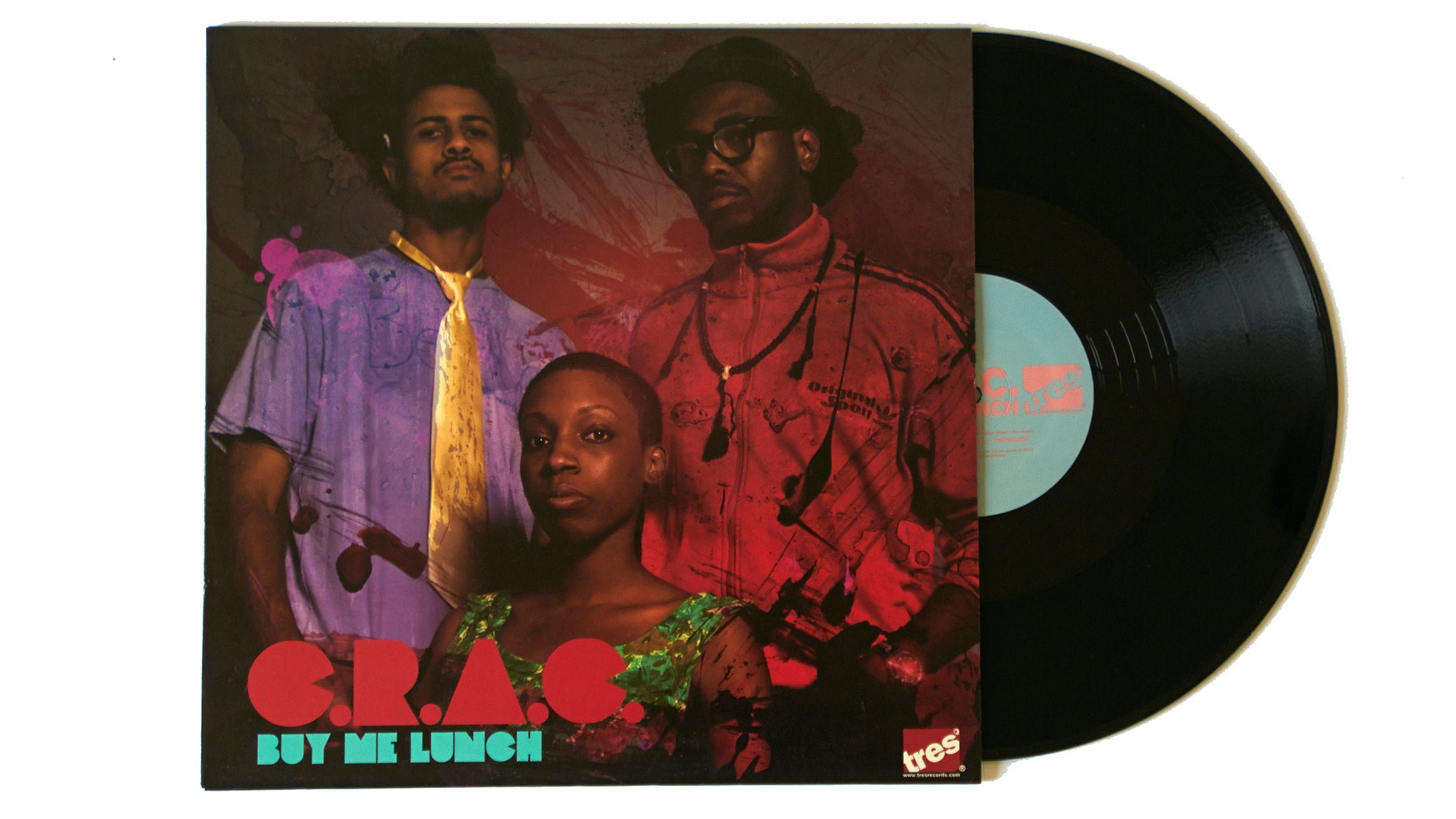 "C.R.A.C. ""Buy Me Lunch"" (12"")"