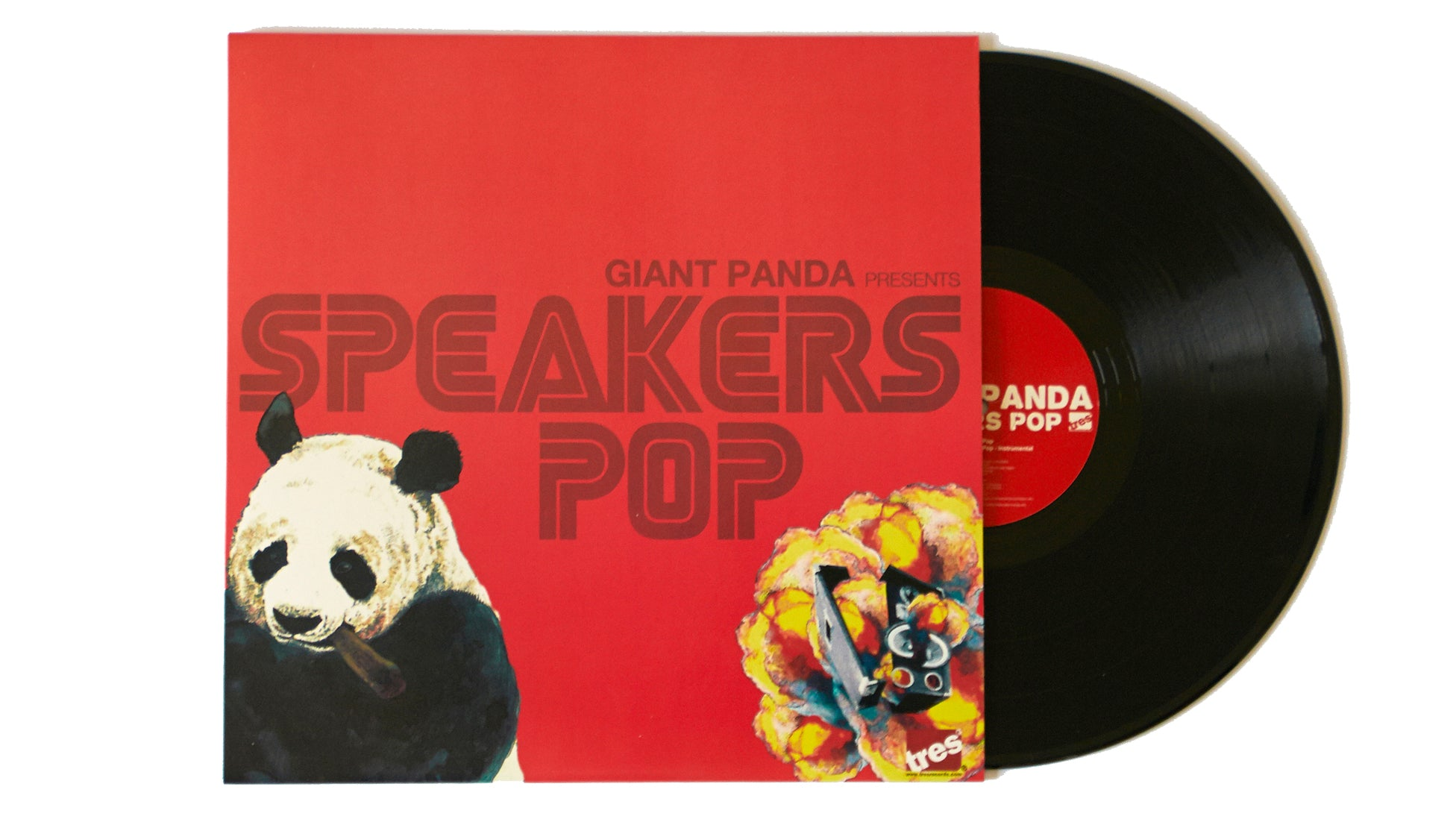 "Giant Panda ""Speakers Pop"" (12"")"