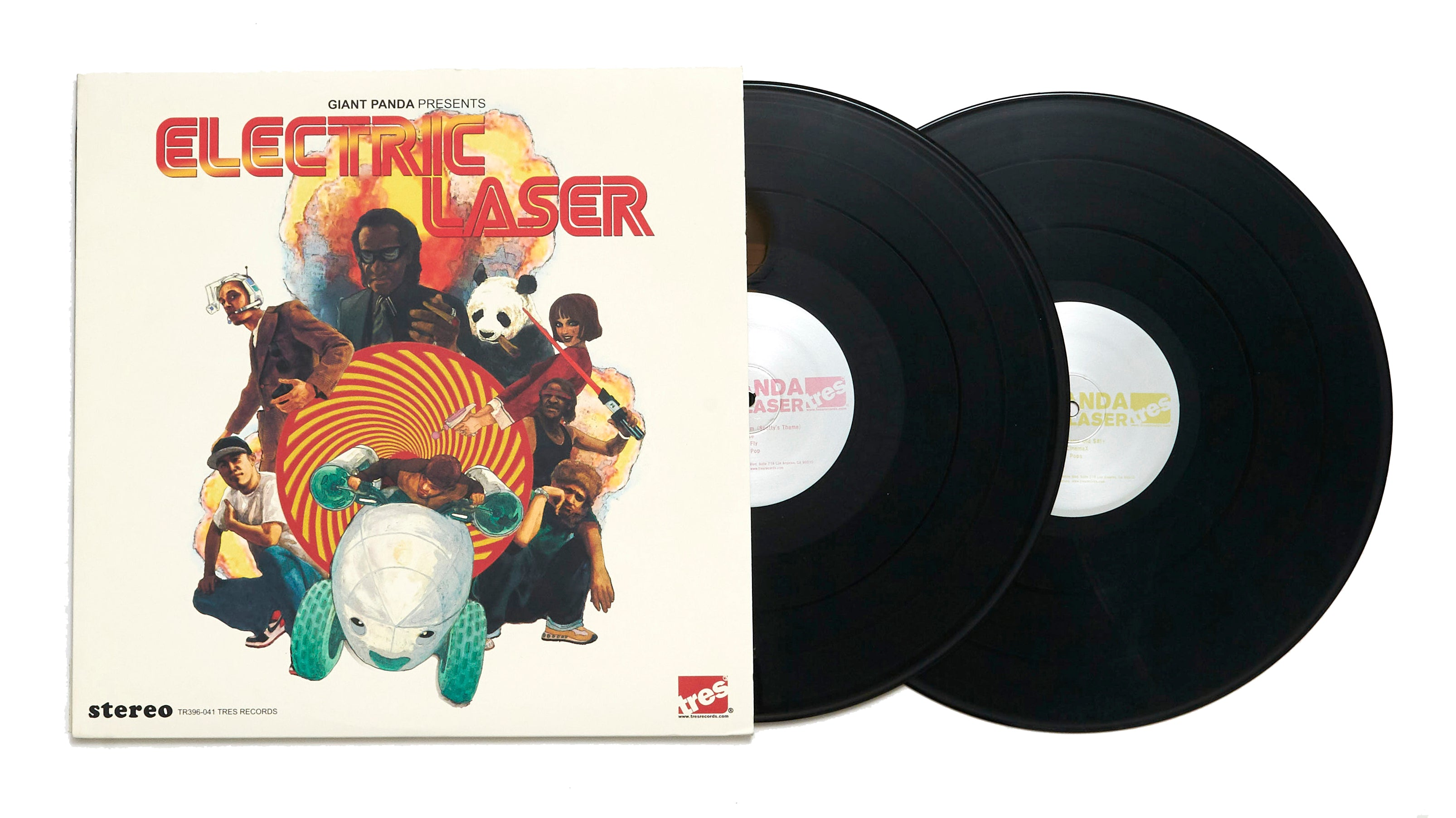 "Giant Panda ""Electric Laser"" (LP)"