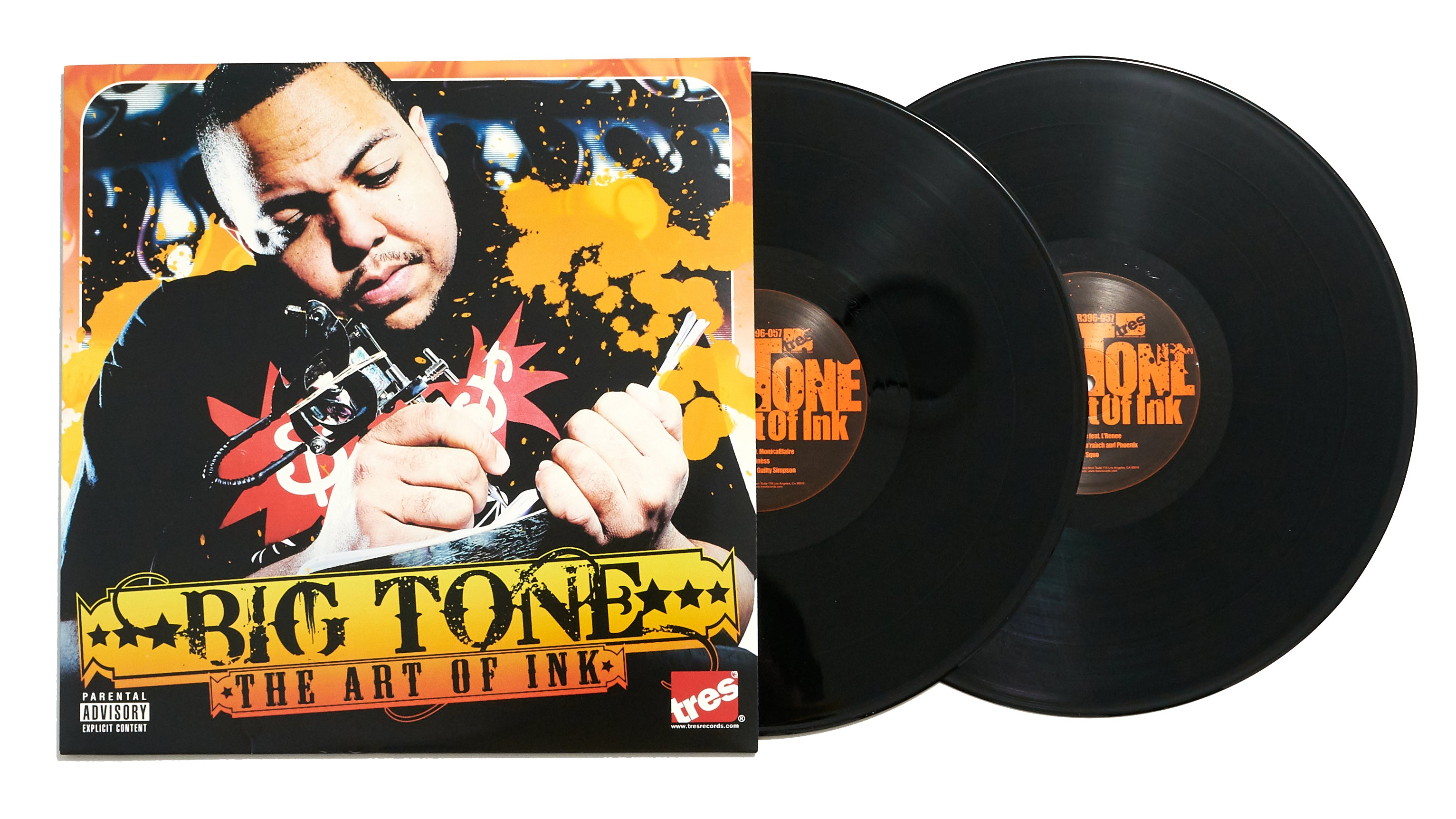 "Big Tone ""The Art of Ink"" (LP)"