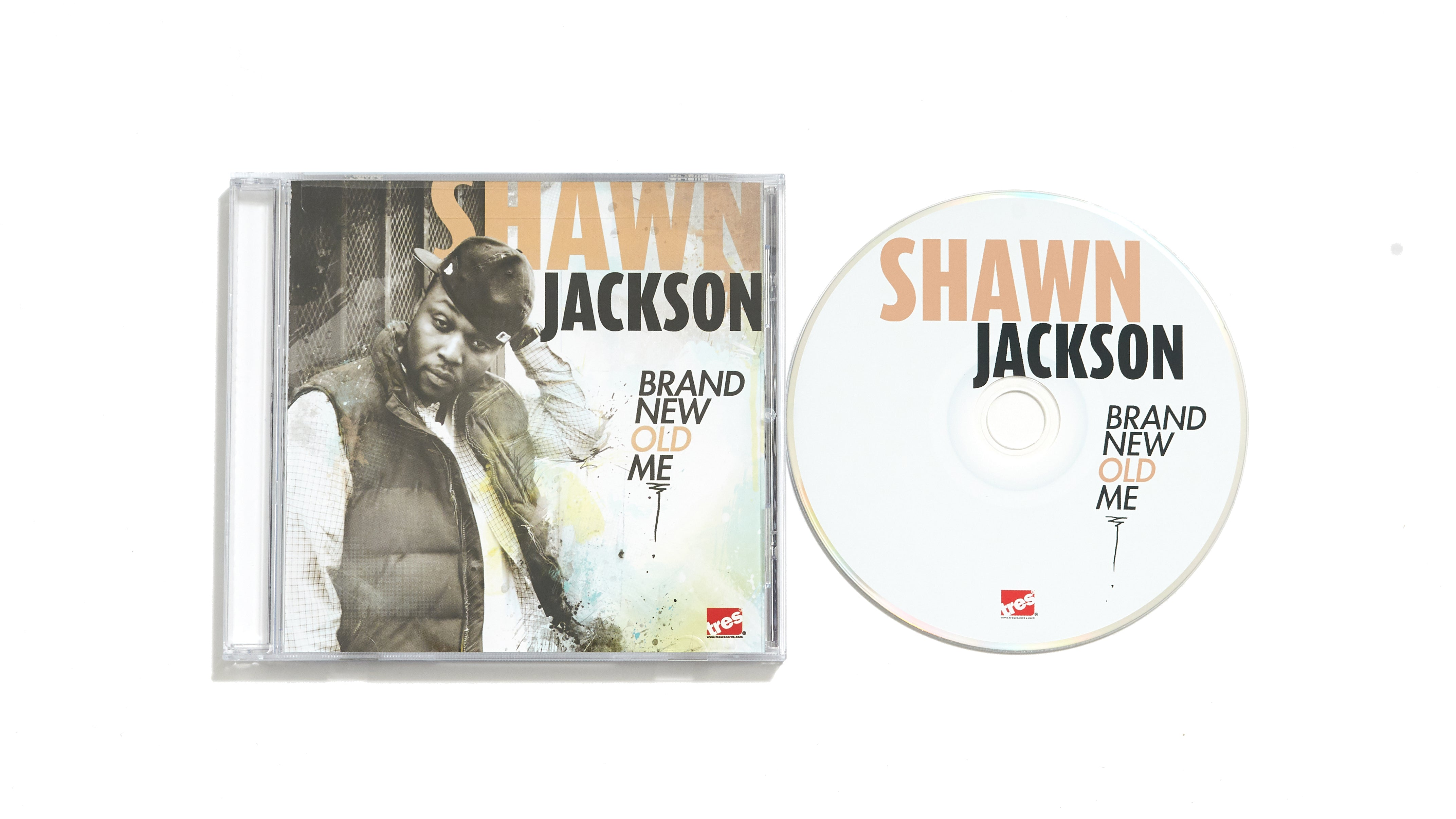 "Shawn Jackson ""Brand New Old Me"" (CD)"
