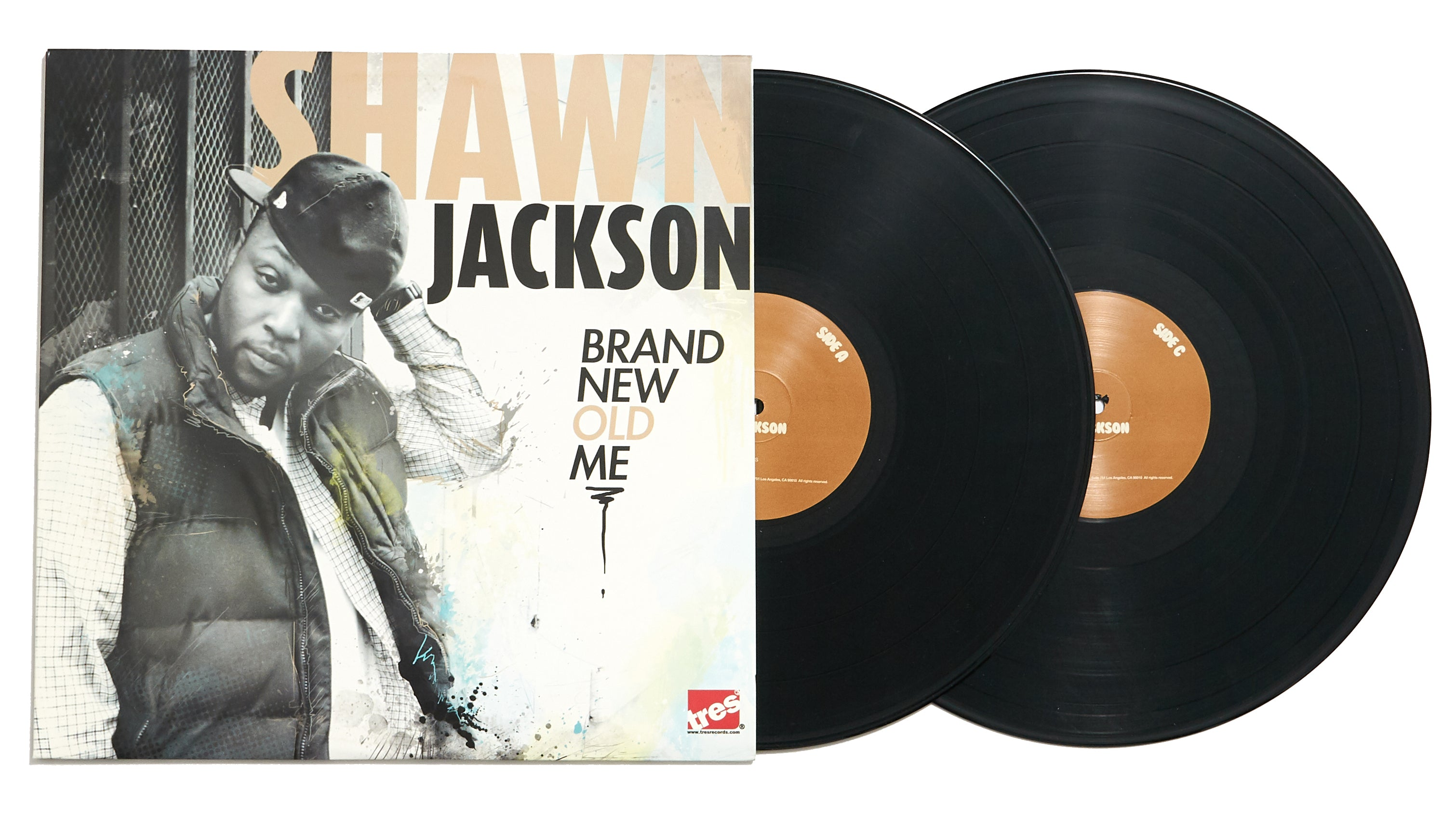 "Shawn Jackson ""Brand New Old Me"" (LP)"